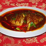 Whole Fish in Black Bean Sauce